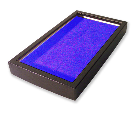 72 Slot Ring Display Case Blue