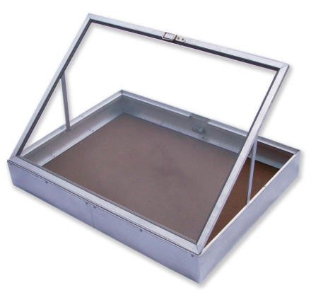 Aluminium Display Case Side Opening Small