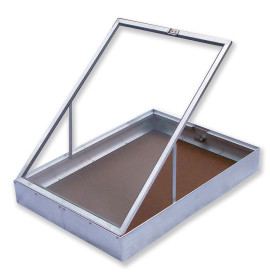 Aluminium Display Case End Opening Small
