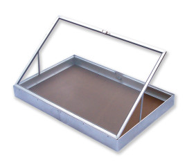 Aluminium Display Case Side Opening