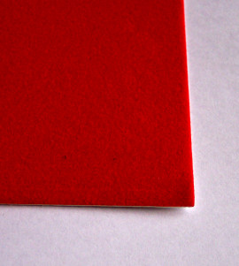 Aluminium Display Case Liner Red