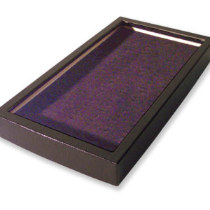 72 Slot Ring Display Case Black