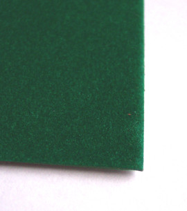 Aluminium Display Case Liner Green