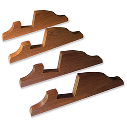 Walnut or Oak Display Stands