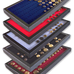 Button 72 Slot Display Cases